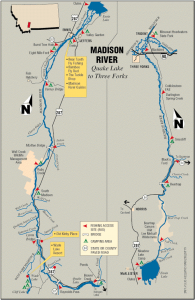 Madison River Map