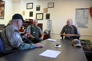 Meeting with Park Service