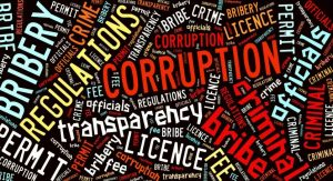 The infiltration of Corruption in Government