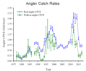 Angler Catch Rates Boat & Walk In