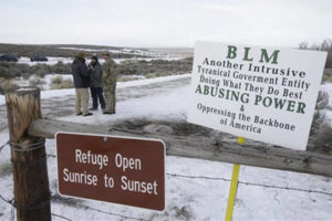 BLM Boundary guards