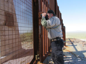Don McDowell on the Border