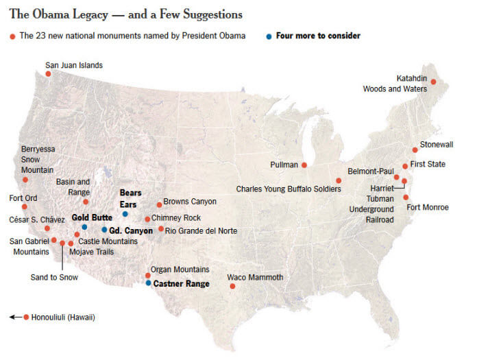 The Obama Legacy of Monument Designations