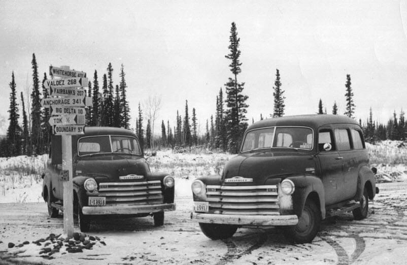 1950 FWS patrol vehicles