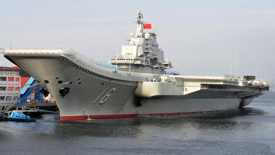 China Navy Carrier