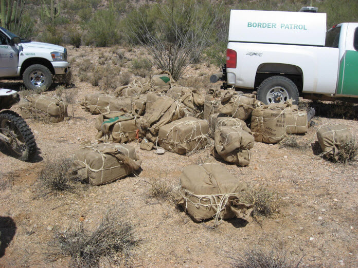 Drug Mules Busted