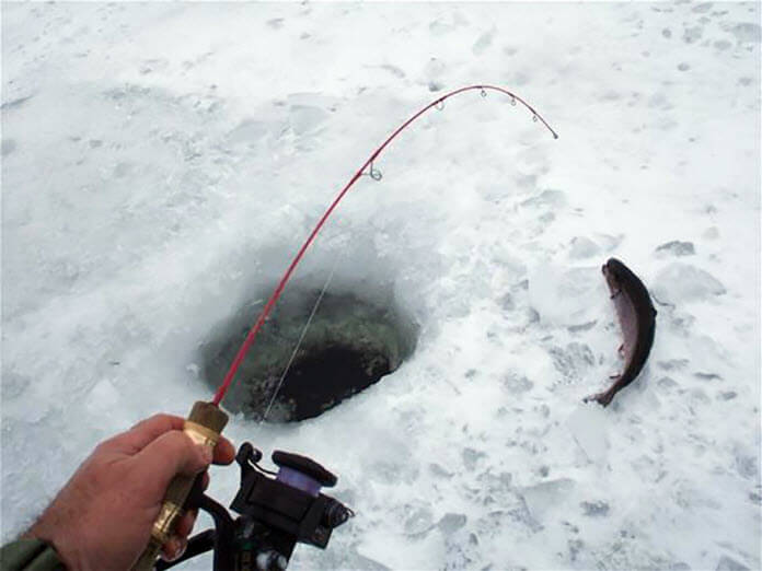 Ice Fishing for Trout