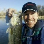 Dead Horse 3 lb largemouth on plastic worm 2013