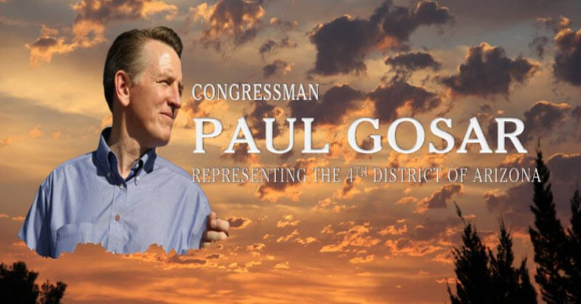 Rep. Paul Gosar
