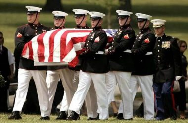 Military Funeral Prosession