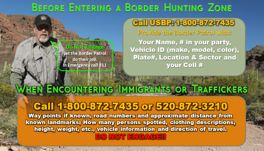 Border Reporting Wallet Card