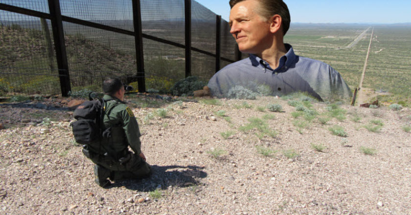 GOSAR ON THE BORDER