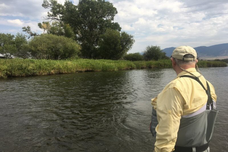 Wet Flies on the Madison River 1