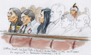 Crow Tribe in Court