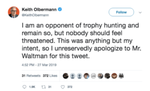 Olbermann Apology