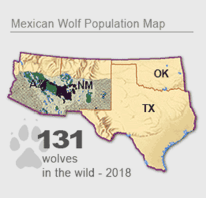 Southwest Wolf Map
