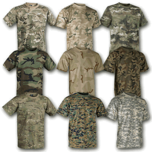 Military Style Camo