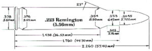 223 Remington Cartridge